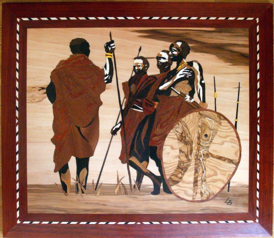 Masai - Marqueteries L.B