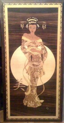 Geisha - Marqueteries L.B